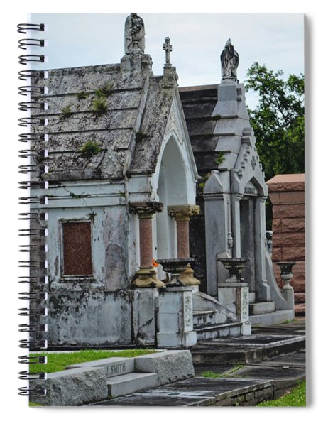 Tombs And Graves Spiral Notebook
