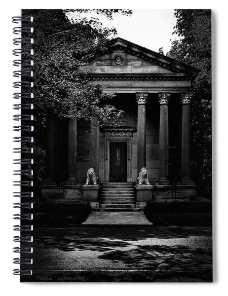 Tombstone Shadow No 23 Spiral Notebook