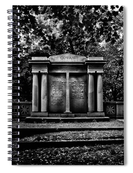 Tombstone Shadow No 8 Spiral Notebook