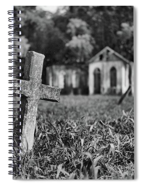 Tombstone, St. Chad's, Trinidad Spiral Notebook