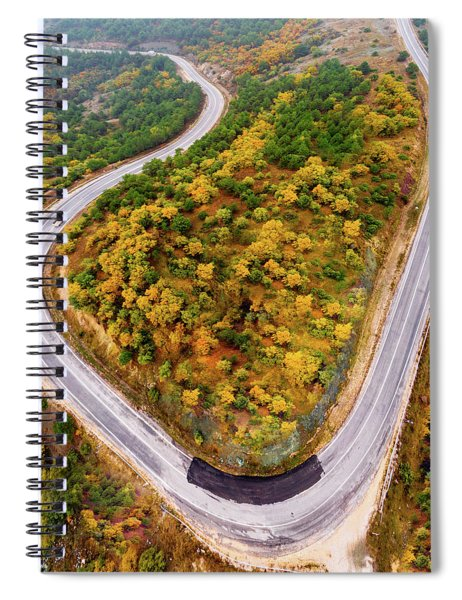Top Of The Hill Spiral Notebook