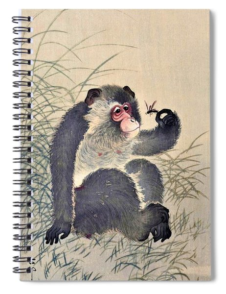 Top Quality Art - Monkey And Bug Spiral Notebook
