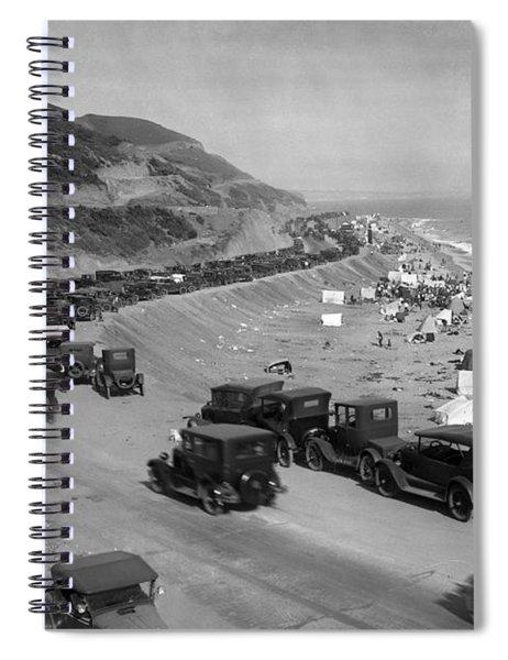 Topanga State Beach 1920 Spiral Notebook
