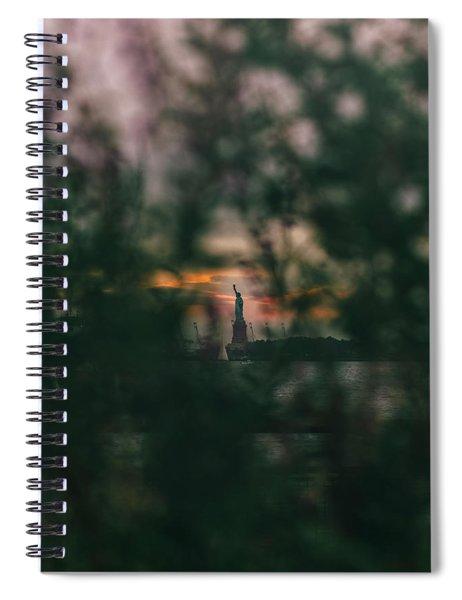 Torchlight Spiral Notebook