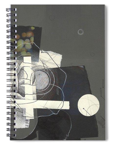 Torn Beauty No. 1 Spiral Notebook