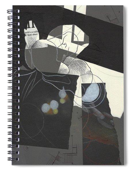 Torn Beauty No. 2 Spiral Notebook