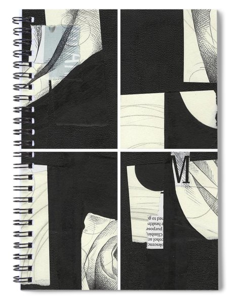 Torn Beauty No. 4 Spiral Notebook