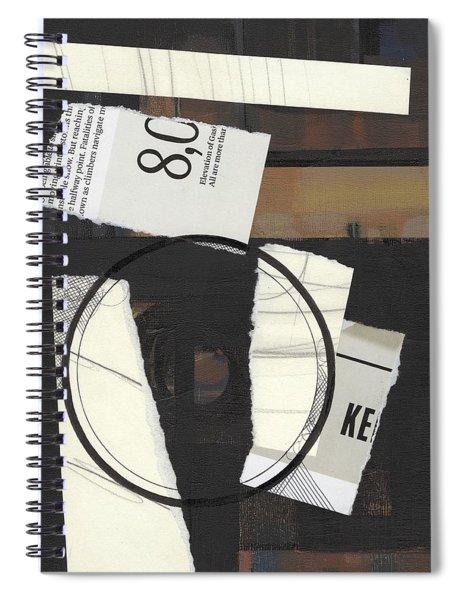 Torn Beauty No. 5 Spiral Notebook