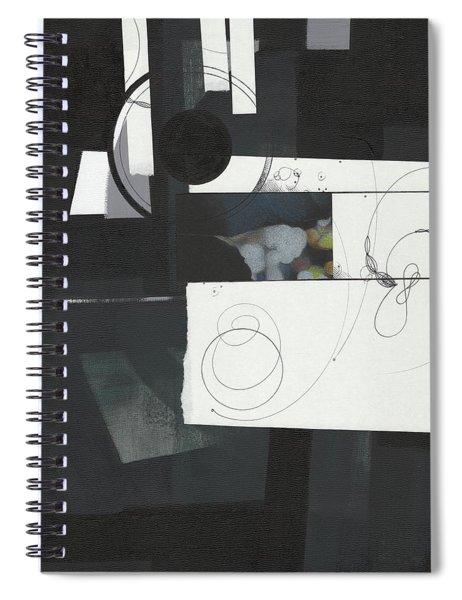 Torn Beauty No. 7 Spiral Notebook
