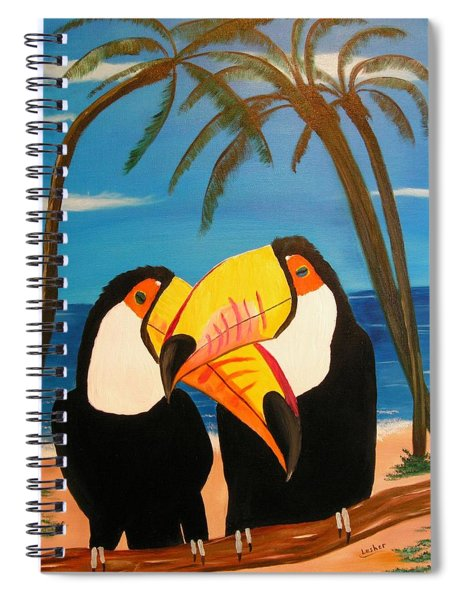 Toucan Love Spiral Notebook