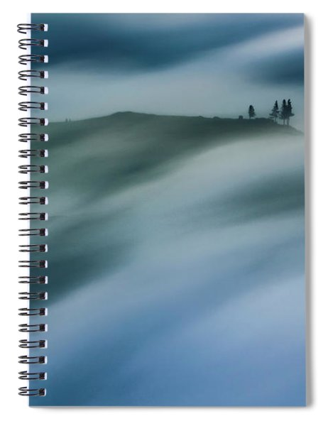 Touch Of Wind Spiral Notebook