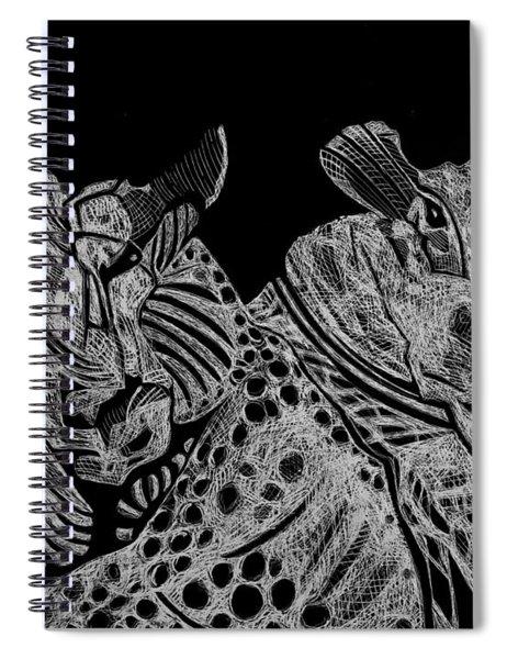 Tough Rams Spiral Notebook