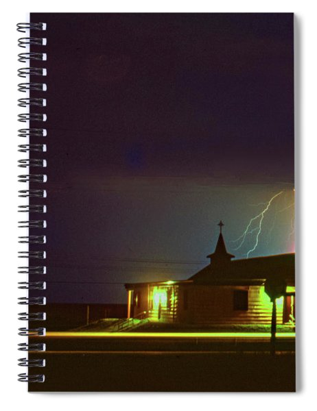 Tough Sermon Tomorrow - Sauble Beach Spiral Notebook