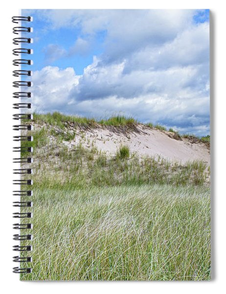 Tour Of The Dunelands Spiral Notebook