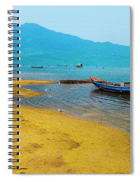 Tourists In Lang Co 2 - Hue, Vietnam Spiral Notebook