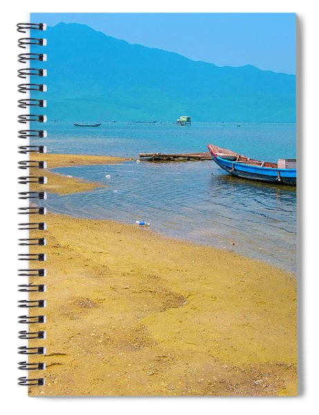 Tourists In Lang Co 1 - Hue, Vietnam Spiral Notebook