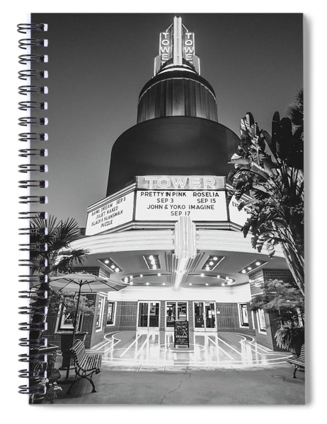 Tower In Silence- Spiral Notebook