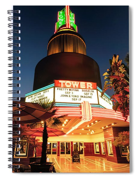 Tower Theater- Spiral Notebook
