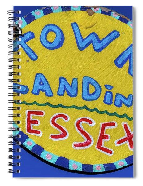 Town Landing Spiral Notebook