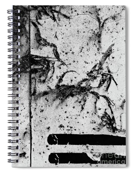Traces Of The Rain Spiral Notebook