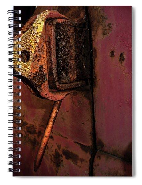 Truck Hinge Spiral Notebook