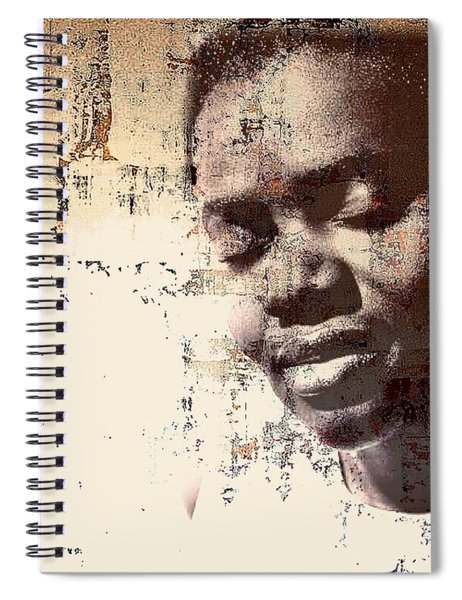 Tracy Chapman Spiral Notebook