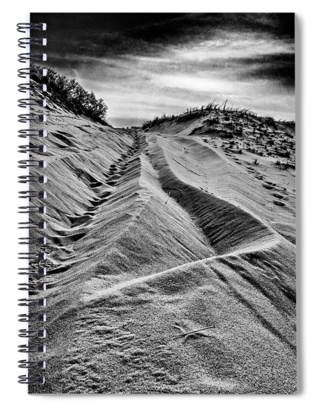 Trail Sculpture Spiral Notebook
