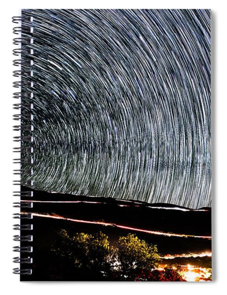 Trail To The Stars Spiral Notebook