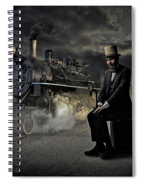Train To Nowhere Spiral Notebook