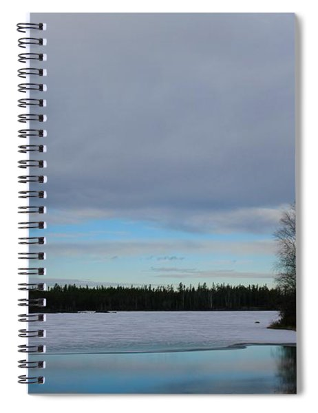 Tranquil Arctic River Spiral Notebook