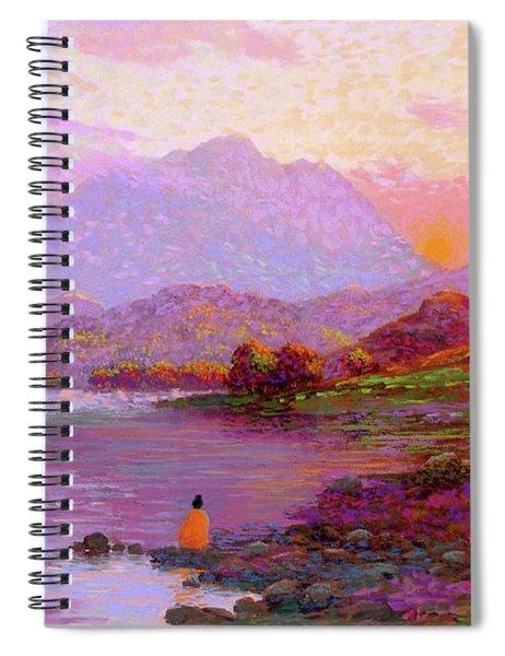 Tranquil Mind Spiral Notebook