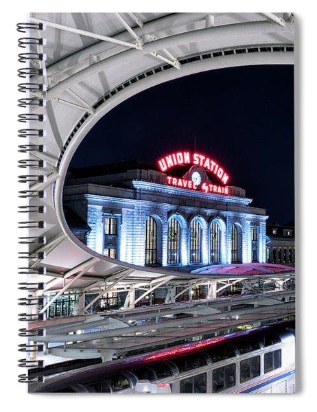 Travel By Train - Union Station Denver #2 Spiral Notebook