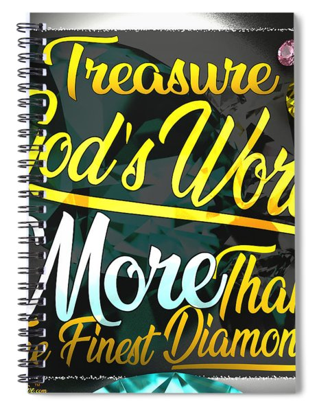Treasure God's Word Spiral Notebook by Passion Give