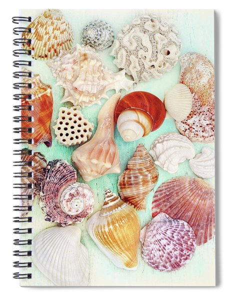 Treasures From The Sea  Spiral Notebook