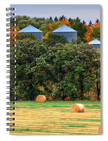 Tree Colours Spiral Notebook