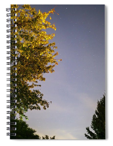 Trees And Stars Spiral Notebook