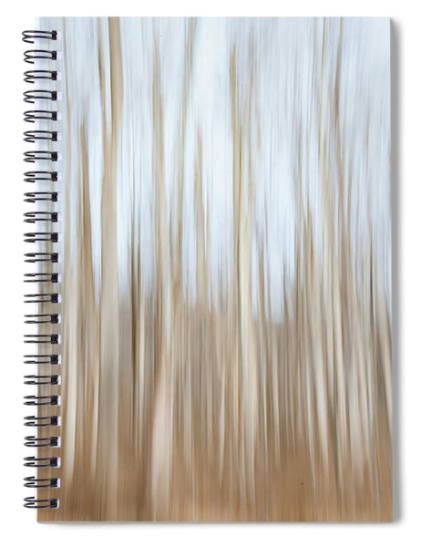 Trees On The Move Spiral Notebook