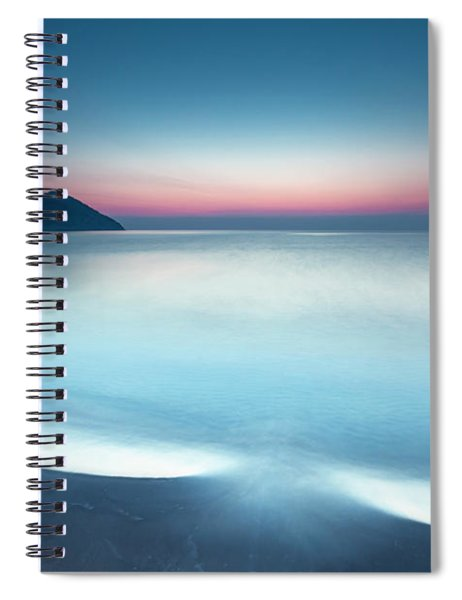 Triangle Island Spiral Notebook