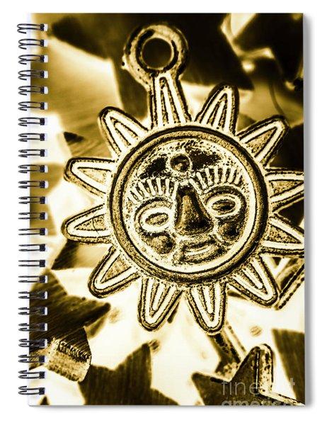 Tribal Suns  Spiral Notebook