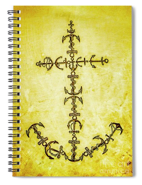 Tribal Waters Spiral Notebook