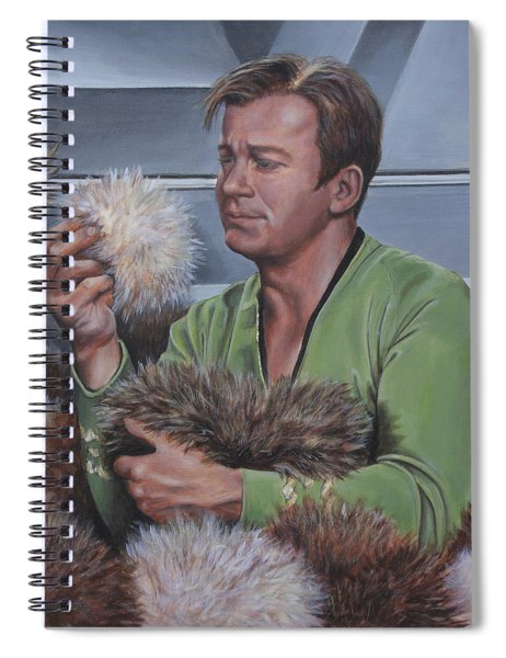 Tribble Trouble Spiral Notebook