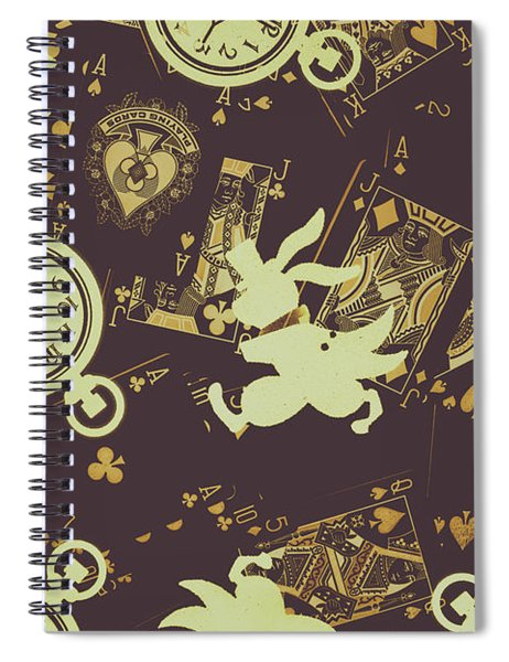 Tricks And Illusions Spiral Notebook