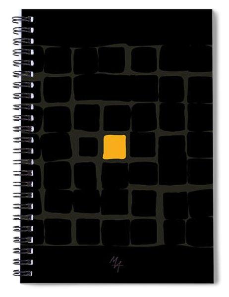 Tricolor In Black Spiral Notebook