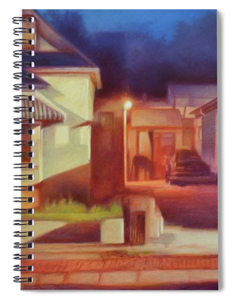 Trinidad Commercial Street Spiral Notebook