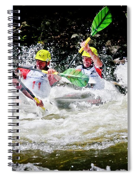Triple Crown Kayak Race Spiral Notebook