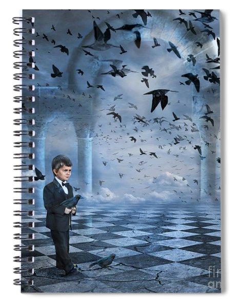 Tristan's Birds Spiral Notebook