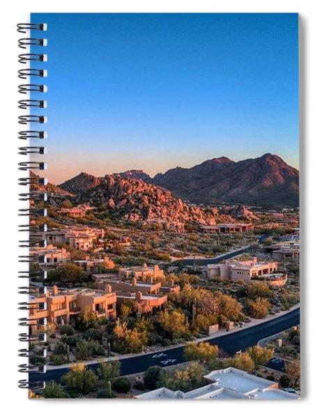 Troon Village Spiral Notebook
