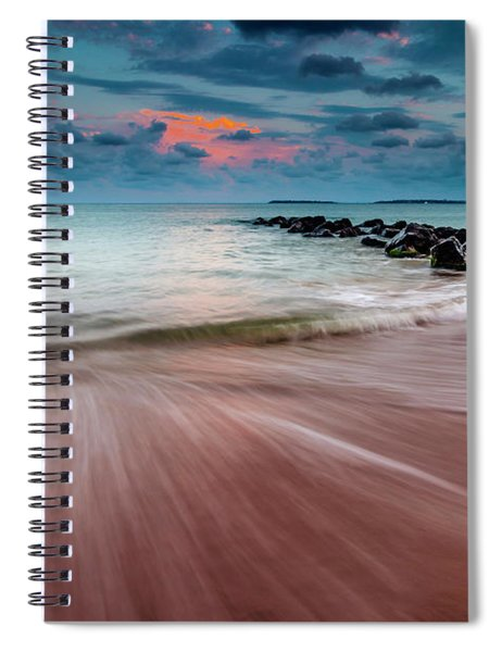 Tropic Sky Spiral Notebook