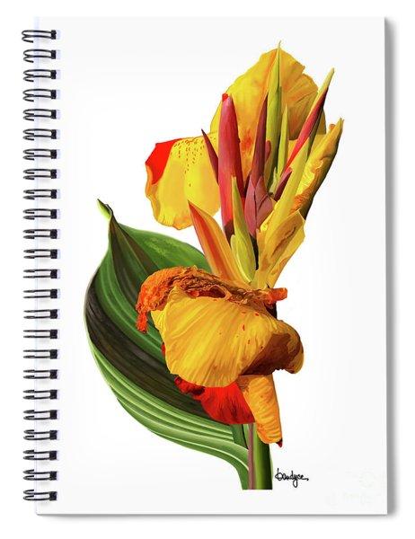 Tropical Bouquet-flower One Spiral Notebook