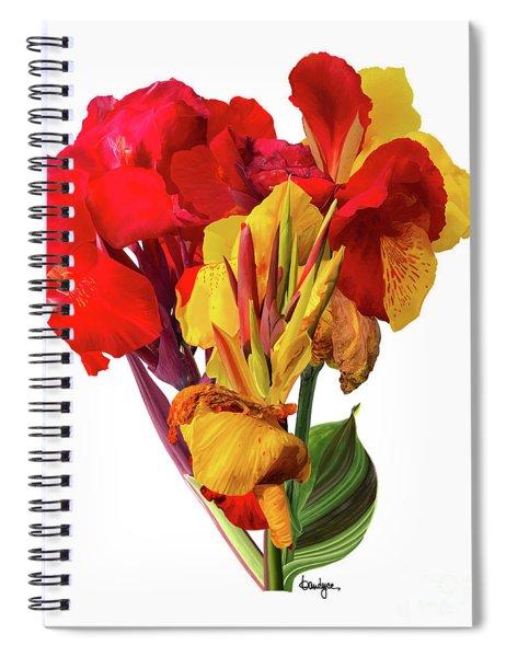 Tropical Bouquet Spiral Notebook